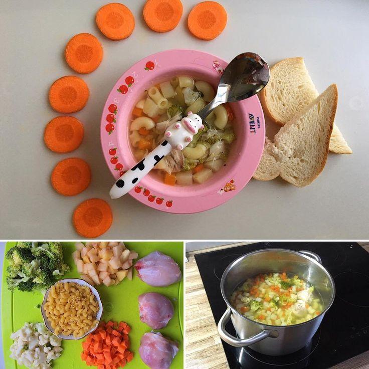 314 отметок «Нравится», 6 комментариев — 🍭 Детское Меню На Каждый День (@menu_detyam) в Instagram: «Вот этот лёгкий и простой в приготовлении суп мы кушаем хорошо 😊 делюсь ✅курица 3 ножки ✅картофель…»