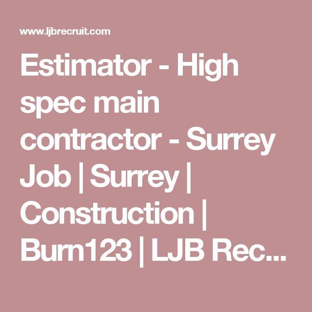The 25+ best ideas about Construction Jobs on Pinterest Resume - construction manager job description