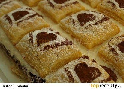 Jablonecké lístkové řezy recept - TopRecepty.cz