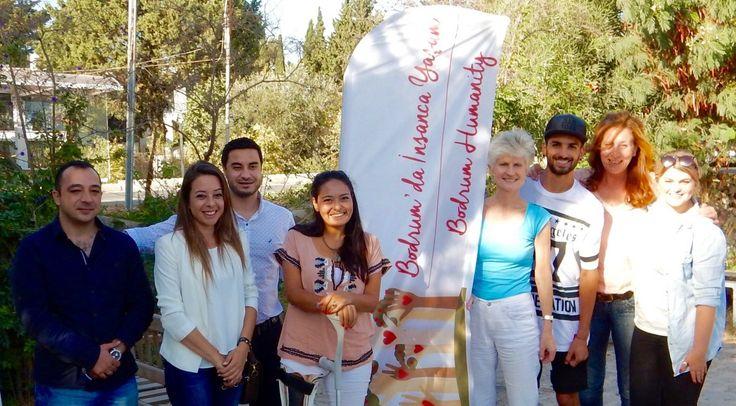 Anna Maria Corazza Bildt, Mitglied des Europäischen Parlaments aus Schweden zu Besuch bei Bodrum Humanity: «Um direkte Hilfe leisten zu können, müssen wir die Flüchtlingssituation in der Türkei bes...