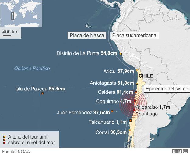 ¿Qué hace que los terremotos de gran magnitud sean menos mortíferos en Chile que en otros países sísmicos? - BBC Mundo