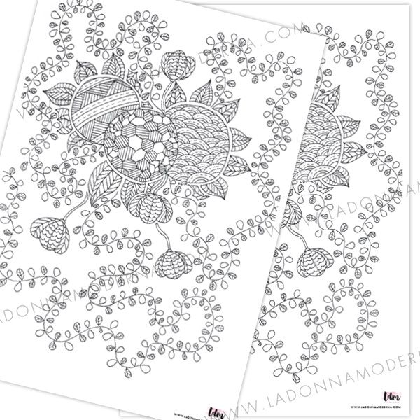FREE coloring in pages that you can download and print!!