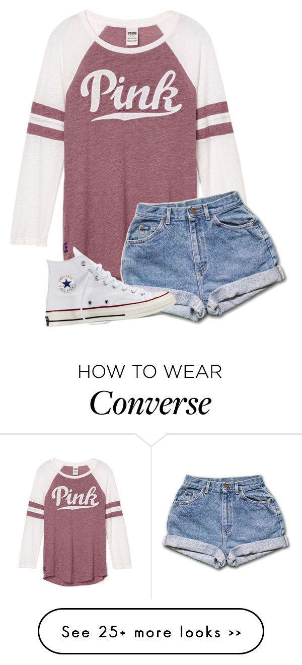 """Maybe I'm Too Busy Being Yours To Fall For Somebody New"" by bellagt on Polyvore featuring Converse"