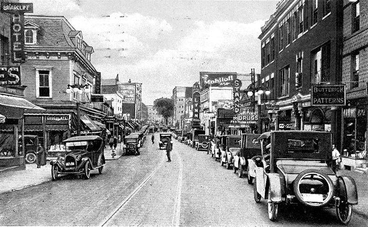 Main Street in White Plains, NY.