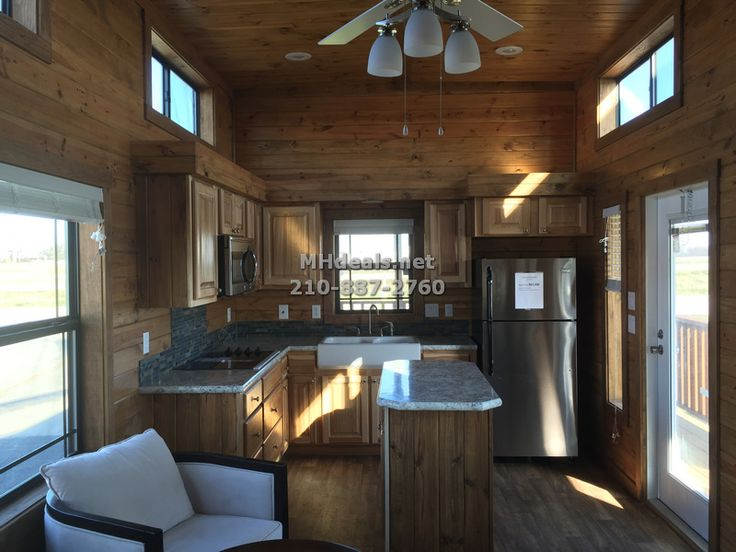 Luxury tiny house for sale with porch appliances a/c