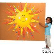 DIY Sun Bulletin Board Set