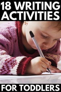 Preschool Letter Practice: 18 Writing Activities for Toddlers | Looking for writing activities for preschoolers to help develop your child's fine motor skills and teach her how to write her name before she enters preschool in the fall? We've got you covered. From letter learning activities and pre writing exercises to writing activities for toddlers, we'll show you how to teach kids to write their name the fun way!