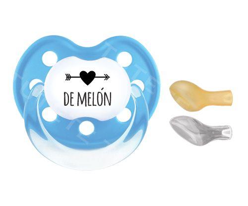 1 Classic Corazón de Melón Azul Cyan +6M