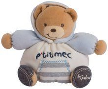Kaloo Denim Plush Toy, Gutsy Chubby Bear, Small. Available at OurPamperedHome.com