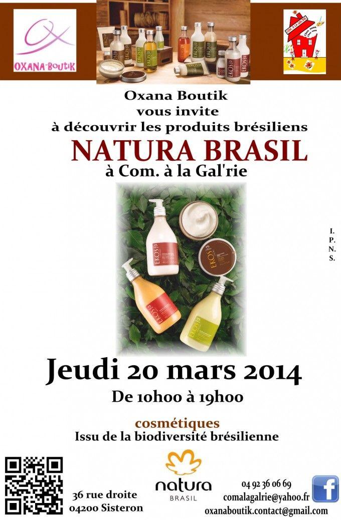 affiche natura brasil