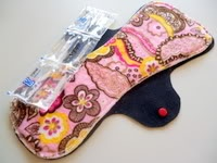 Postpartum Ice Pads - cloth pads w/ ice packs from Pampered Mama. Awesome invention! $12