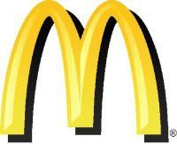 The metonymic Golden Arches logo of McDonald's Corporation