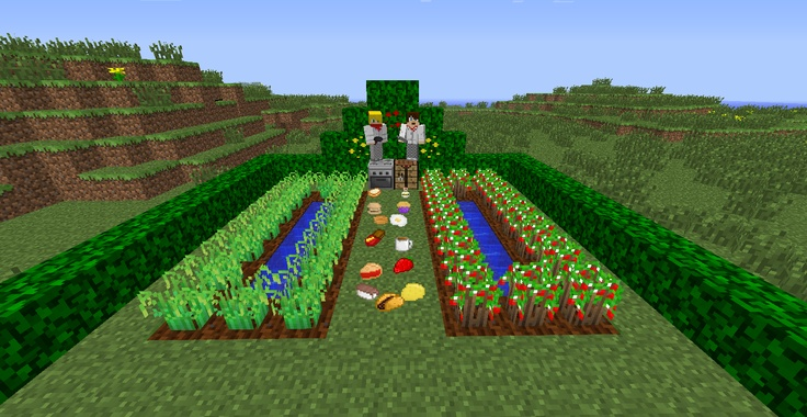 This Minecraft Mod Adds Tons and Tons of New Foods to Your Game, Such as Sushi,Muffins,Sandwiches, Burgers, Pancakes, and of Course BACON!!!!!!