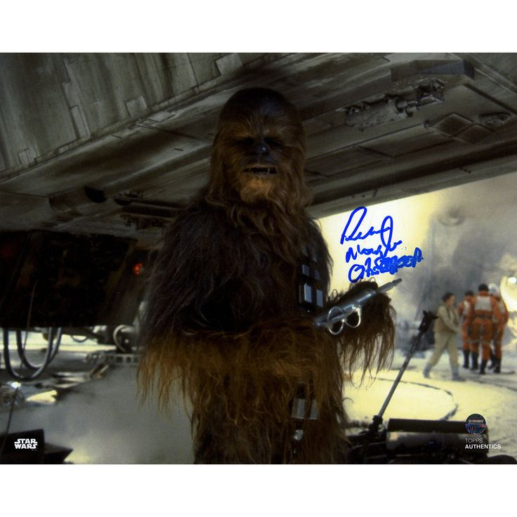 Peter Mayhew Signed Chewbacca inÿStar Wars: The Empire Strikes Back 8x10 Photo