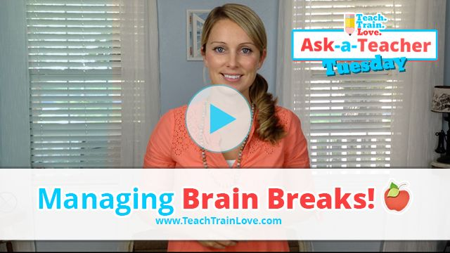 Video blog with 3 tips on managing brain breaks. Links to about 80 dancing brain break videos, too!