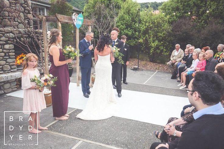 Just married    The Breeze Wedding in a Week   Dress from Astra Bridal   www.borrowedandblue.kiwi