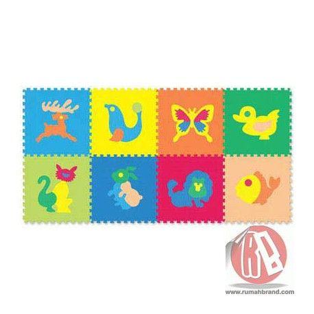 Evamat Hewan (MB-4) @Rp. 89.000,-   http://rumahbrand.com/mainan-bayi/1388-evamat-hewan.html