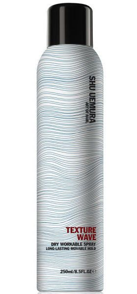 If you're running late to work, this product will save your life. // Texture Wave by Shu Uemura