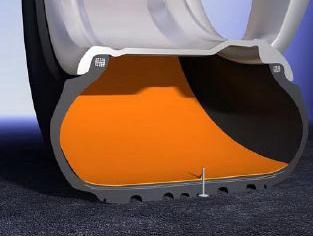 pneu auto-réparant