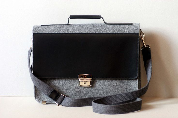 "FELT 15"" MACBOOK BRIEFCASE, felt leather case, genuine leather, felt laptop bag, customized by FUTERAL on Etsy https://www.etsy.com/listing/179104645/felt-15-macbook-briefcase-felt-leather"