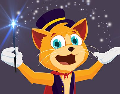 """Check out new work on my @Behance portfolio: """"Cat Magic"""" http://be.net/gallery/47936503/Cat-Magic"""