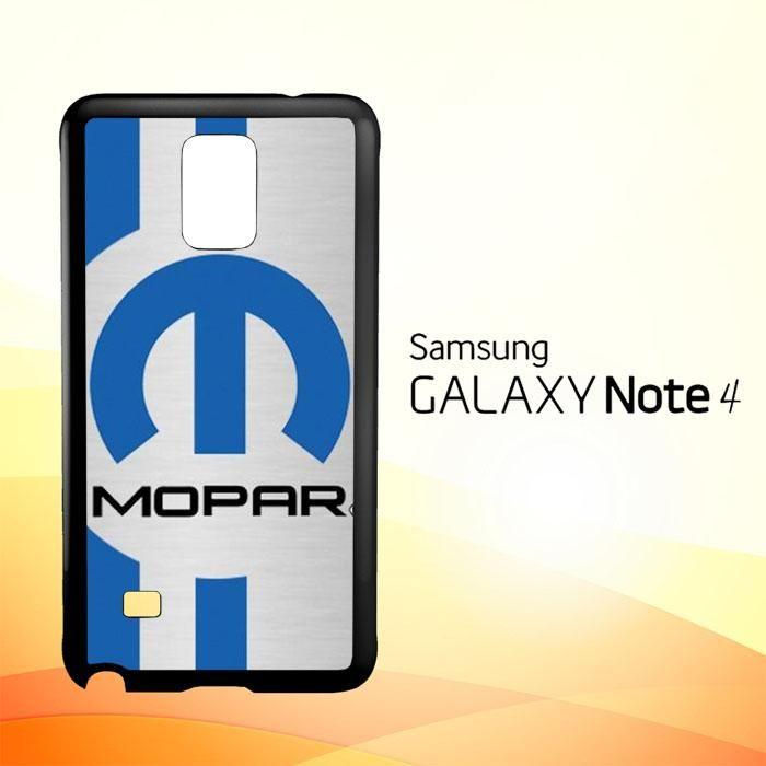 Mopar Logo Z4068 Samsung Galaxy Note 4 Case