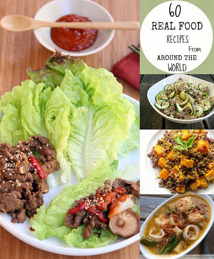 60 Real Food Recipes from A