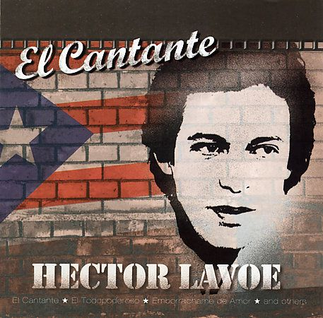 "One of my heros....the man that brought Salsa music to the streets of NYC ...Hector ""El Cantante"" Levoe!"