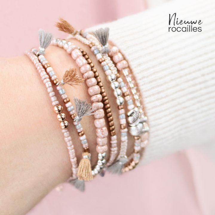 Maak de allerleukste en fijne sieraden voor de zomer met onze nieuwe glaskralen rocailles! Met deze kralen in verschillende maten en talloze kleuren kun je hele veelzijdige sieraden maken.