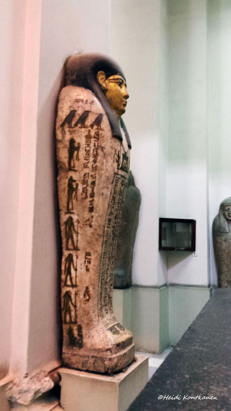 https://flic.kr/p/JMJy6o | Coffin lid | A beautiful anthropoid coffin lid. Ground floor, gallery 50  Cairo Museum
