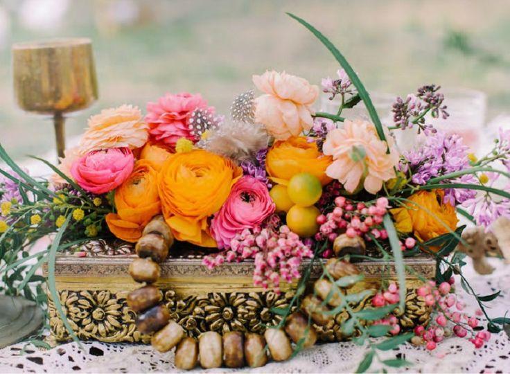{Inspiration} Mariage bohème - La Mariée en Colère Blog Mariage, grossesse, voyage de noces. Parce que les mariages Hippies / Bohèmes seront la tendance de la prochaine saison, voici quelques inspirations : http://lamarieeencolere.com/2015/09/inspiration-mariage-boheme/