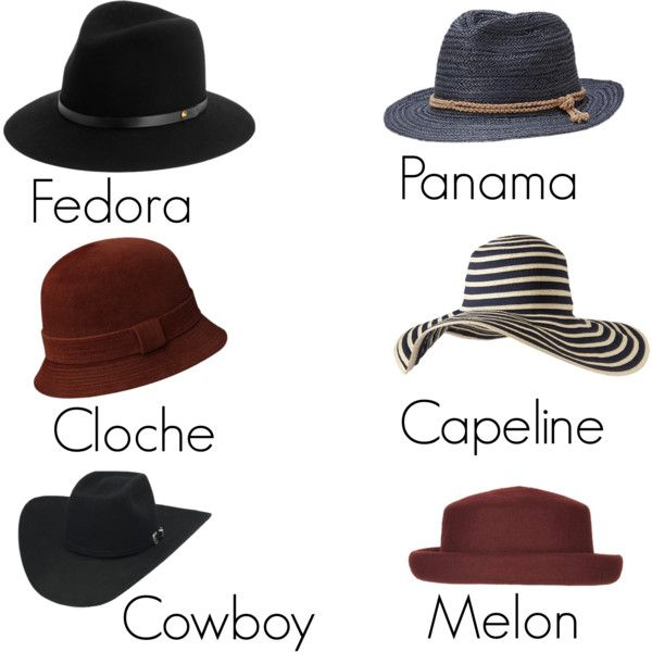 """""""Chapeaux"""" by catherine-boissy on Polyvore"""
