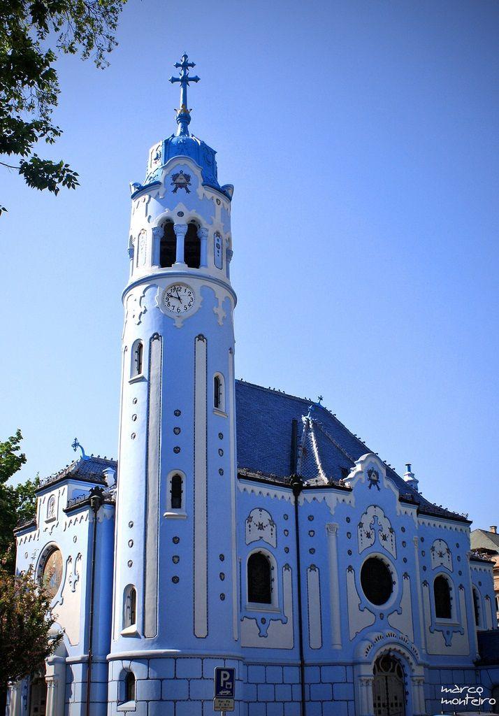 St Elizabeth's / Blue Church. Bratislava 15