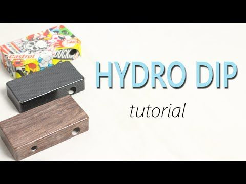 How to Hydro Dip Tutorial - YouTube