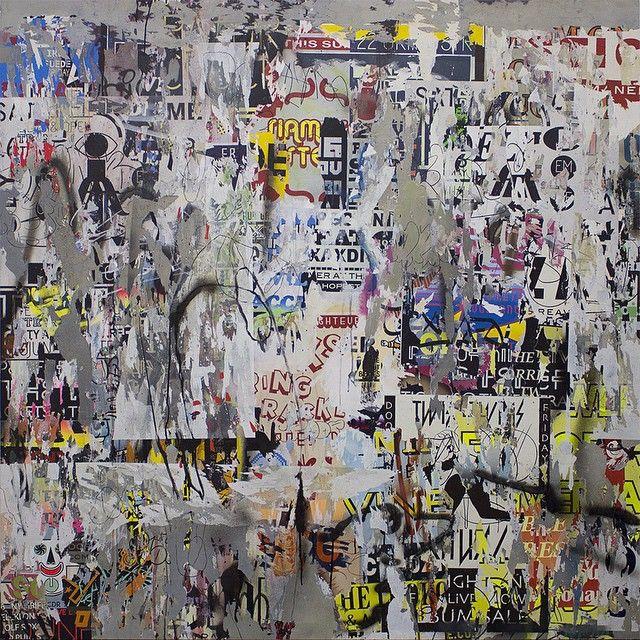 "asha zero "" untitled "" acrylic on board 150 x 150 cm 2015 #ashazero #smacartgallery #joburgartfair #thelakemagazine #painting"