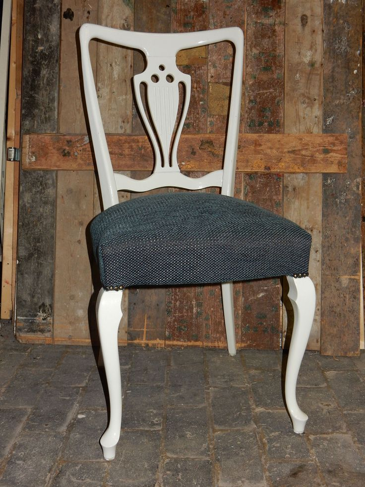 Chair upholsterd with fabric from Chivasso