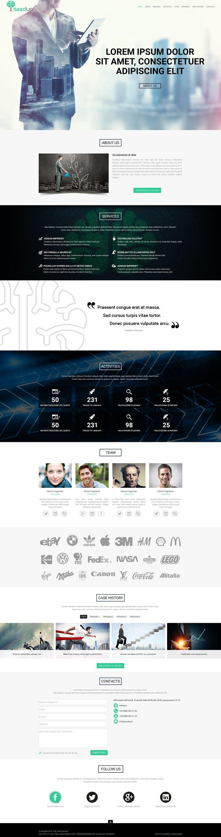 SeedUp - Bozza: Project Manager - Wordpress Designer