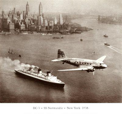 DC-3 & Normandie
