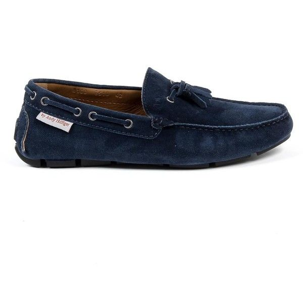 Andrew Charles Mens Loafer Blue JEREMY ($181) ❤ liked on Polyvore featuring men's fashion, men's shoes, men's loafers, mens blue shoes, mens loafers, mens loafer shoes, mens blue loafers and mens blue loafers shoes
