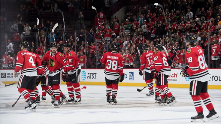 The Blackhawks have announced the team's six-game preseason schedule for the 2017-18 season.