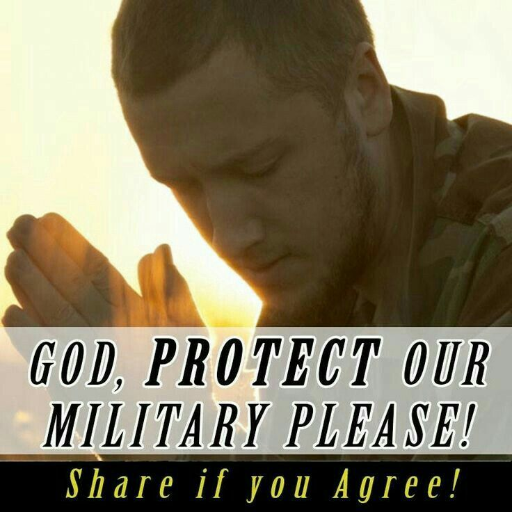 Bless our soldiers