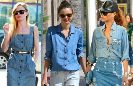 Women's Fashion Trends in Blue | Ways to Rock the Double-Denim Trend
