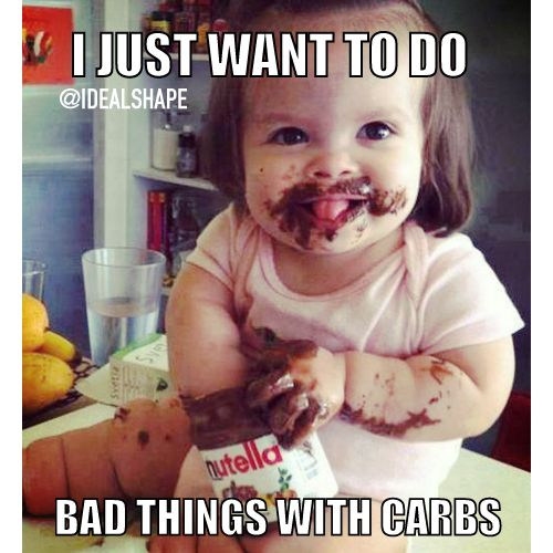 The struggle is REAL #IdealShape #MyIdeal #Fitness #Humor #Nutella