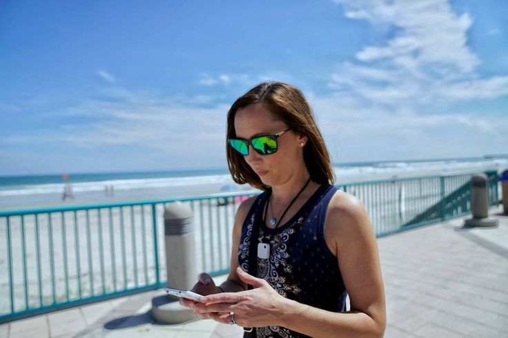 #GottaCatchEmAll #PokemonGo  Catching #Pokemon with my Melinda Fawcett is up there as one of my favourite things to do. Well... less about catching Pokémon and more about spending time with my #beautiful #wife  #A7RM2 & #Snapseed #TravelMore #Daytona #Beach #DaytonaBeach #Bokeh