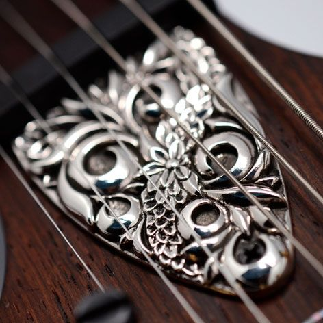 Custom Truss Rod Cover for PRS Lovers | Wild but Elegant
