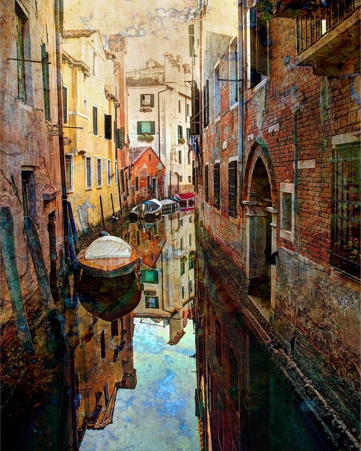 Old canals in Venice...