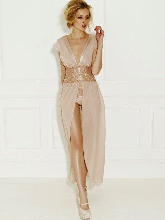 Fleur of England - Naked Boudoir Gown at Faire Frou Frou