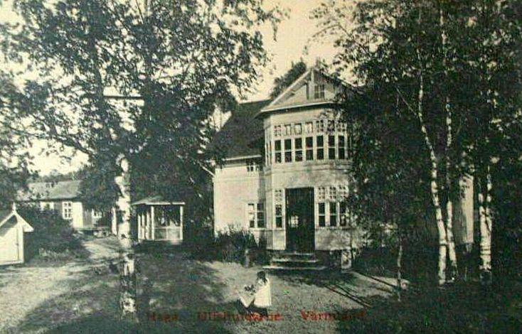 Värmland Eda kommun Koppom Järnskog Ulvshuvdane Haga 1910