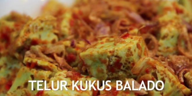Video : Telur Kukus Balado  | Dream.co.id