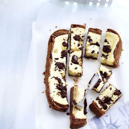 Chocolate Cookie Dough Cheesecake Rezept
